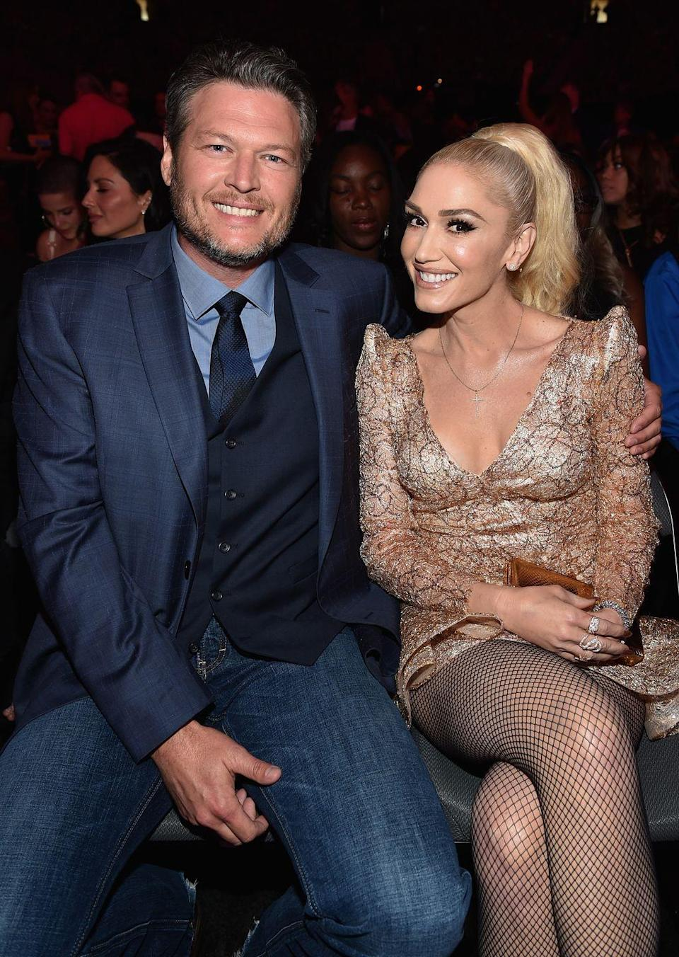 """<p>Tony Kanal isn't the only <a href=""""https://www.goodhousekeeping.com/life/entertainment/a31078748/blake-shelton-gwen-stefani-married/"""" rel=""""nofollow noopener"""" target=""""_blank"""" data-ylk=""""slk:guy Gwen's written songs about"""" class=""""link rapid-noclick-resp"""">guy Gwen's written songs about</a>. There was plenty of speculation that her 2016 song """"Make Me Like You"""" was about <a href=""""https://www.goodhousekeeping.com/life/entertainment/a32292035/blake-shelton-gwen-stefani-nobody-but-you-reactions/"""" rel=""""nofollow noopener"""" target=""""_blank"""" data-ylk=""""slk:Blake Shelton"""" class=""""link rapid-noclick-resp"""">Blake Shelton</a>, thanks to lyrics like """"Why'd you have to go and make me like you?/ Yeah this is a feeling I'm not used to."""" She eventually confirmed it in <a href=""""https://www.cbsnews.com/news/gwen-stefani-says-make-me-like-you-is-about-blake-shelton/"""" rel=""""nofollow noopener"""" target=""""_blank"""" data-ylk=""""slk:an interview with Jimmy Kimmel"""" class=""""link rapid-noclick-resp"""">an interview with Jimmy Kimmel</a>. </p>"""