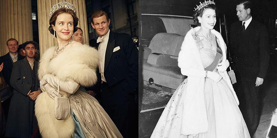 <p>One of the best parts of Netflix's The Crown is the fashion. And while the show doesn't always replicate ensembles exactly as they were in real life, that just makes the sartorial moments that are the same that much more impactful. In honor of The Crown's return, we rounded up the best outfits that have been recreated on the show.</p>