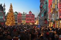 "Some of the best flight deals tend to be to Europe—but just because you can plan a cheap, last-minute trip to the continent doesn't mean you should bank on that when it comes to certain events. To experience Europe's fantastic <a href=""https://www.cntraveler.com/gallery/best-christmas-markets-in-europe?mbid=synd_yahoo_rss"" rel=""nofollow noopener"" target=""_blank"" data-ylk=""slk:Christmas markets"" class=""link rapid-noclick-resp"">Christmas markets</a>, for example, which fill city squares with mulled wine and seasonal cakes come December, you'll want to plan a full calendar year beforehand to snag conveniently located hotels (not to mention reservations at festive destination restaurants). The good news? From Prague to <a href=""https://www.cntraveler.com/gallery/the-best-christmas-markets-in-germany?mbid=synd_yahoo_rss"" rel=""nofollow noopener"" target=""_blank"" data-ylk=""slk:Berlin"" class=""link rapid-noclick-resp"">Berlin</a> to Edinburgh, the markets are plentiful and open to all, so you don't have to snag tickets in advance."