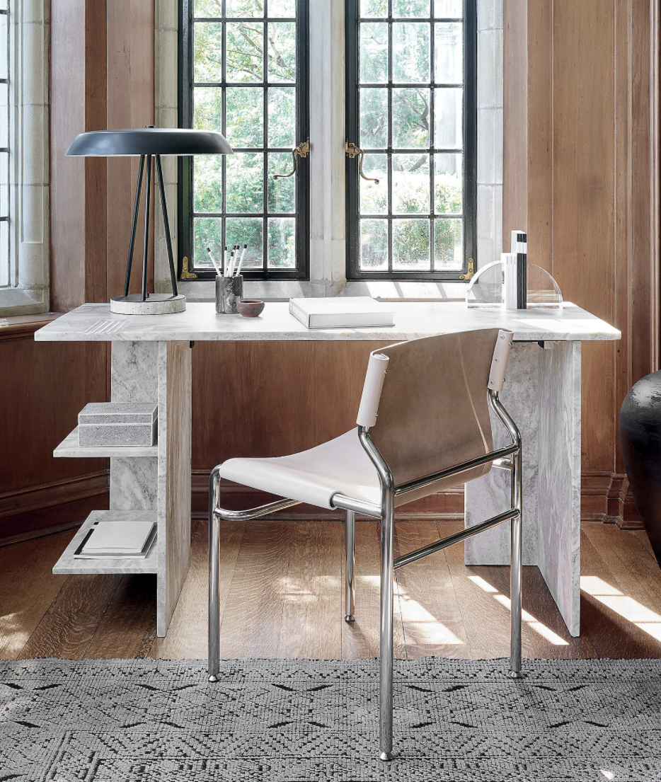 """<p>A favorite among influencers, CB2 is one of the most popular furniture brands in recent history. But their products, like the <a href=""""https://go.redirectingat.com?id=74968X1596630&url=https%3A%2F%2Fwww.cb2.com%2Fhera-marble-desk-with-shelves%2Fs214110&sref=https%3A%2F%2Fwww.townandcountrymag.com%2Fstyle%2Fhome-decor%2Fg37858770%2Fluxury-furniture-brands%2F"""" rel=""""nofollow noopener"""" target=""""_blank"""" data-ylk=""""slk:Hera Marble Desk with Shelves"""" class=""""link rapid-noclick-resp"""">Hera Marble Desk with Shelves</a>, live up to the hype. </p><p><a class=""""link rapid-noclick-resp"""" href=""""https://go.redirectingat.com?id=74968X1596630&url=https%3A%2F%2Fwww.cb2.com%2F&sref=https%3A%2F%2Fwww.townandcountrymag.com%2Fstyle%2Fhome-decor%2Fg37858770%2Fluxury-furniture-brands%2F"""" rel=""""nofollow noopener"""" target=""""_blank"""" data-ylk=""""slk:Shop"""">Shop</a></p>"""