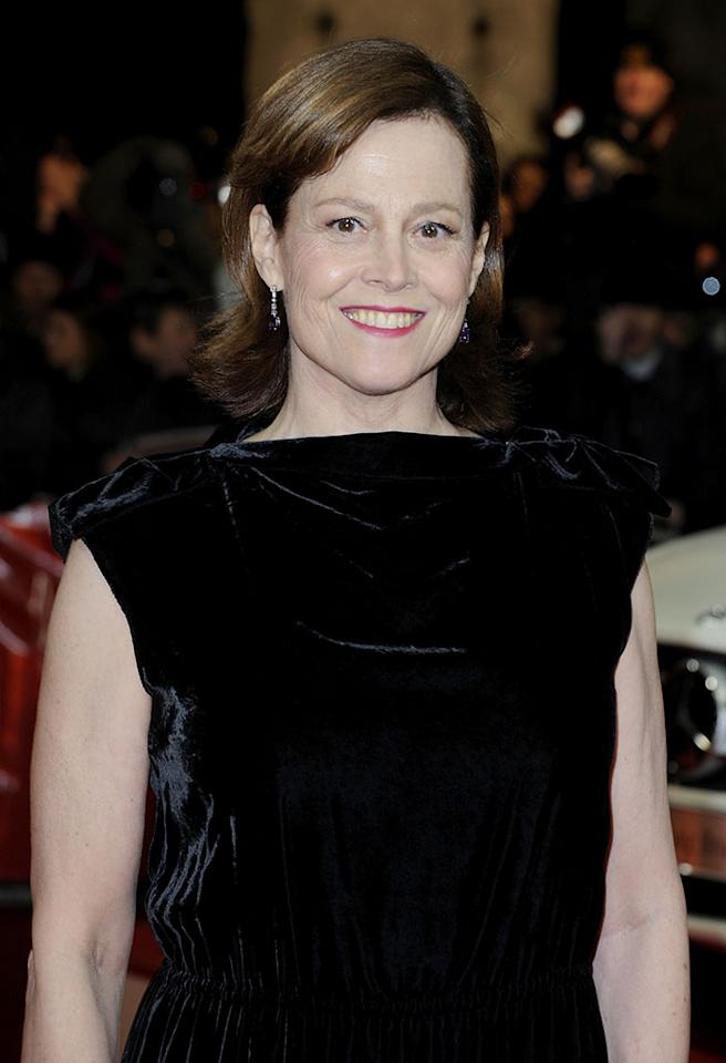 BERLIN, GERMANY - FEBRUARY 02:  Sigourney Weaver attends the 48th Golden Camera Awards at the Axel Springer Haus on February 2, 2013 in Berlin, Germany.  (Photo by Luca Teuchmann/WireImage)