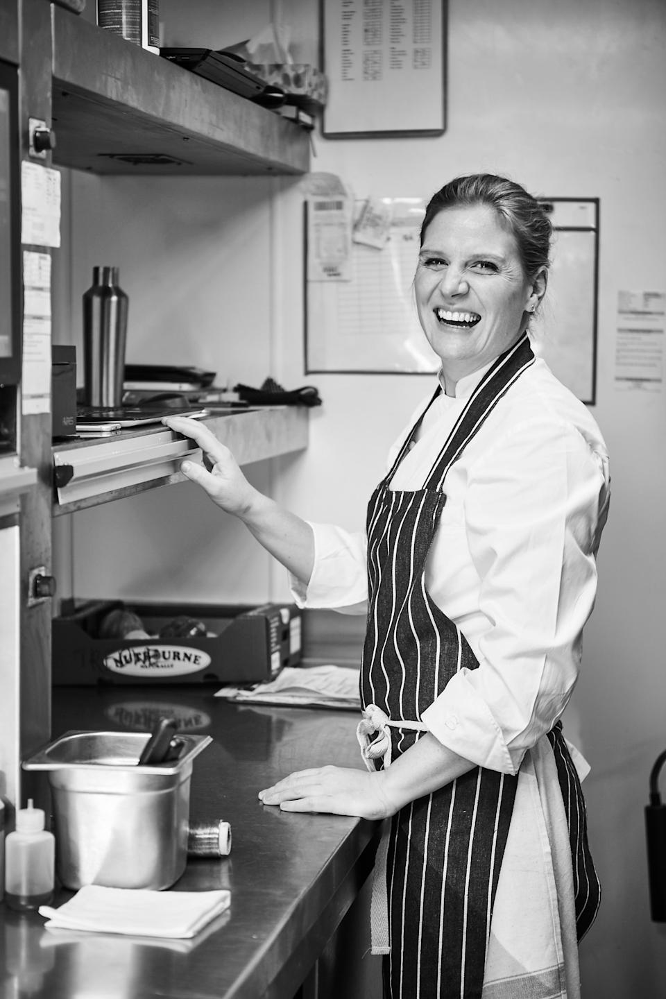 <p>Chantelle Nicholson decided to start a temporary eatery</p>Chantelle Nicholson