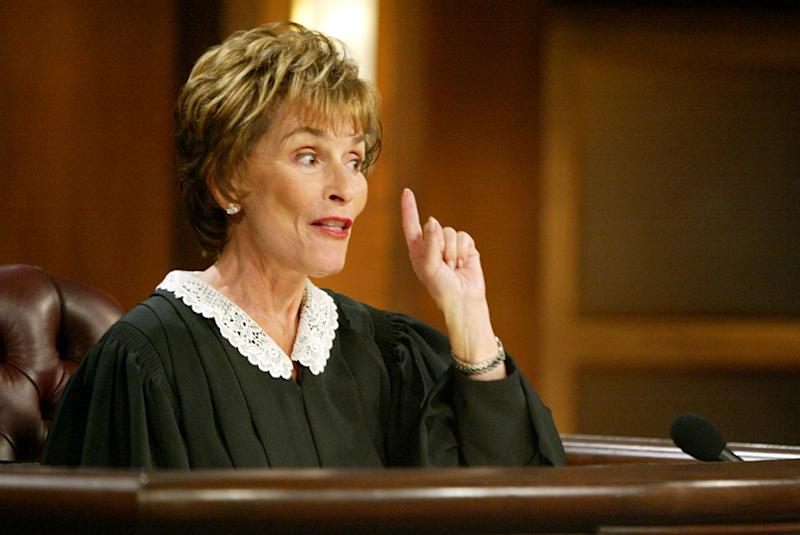 JUDGE JUDY, Judge Judy Sheindlin, 1996-, © Paramount TV / Courtesy: Everett Collection