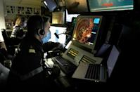 Technologies like radar provide the crew with a detailed picture of their surroundings