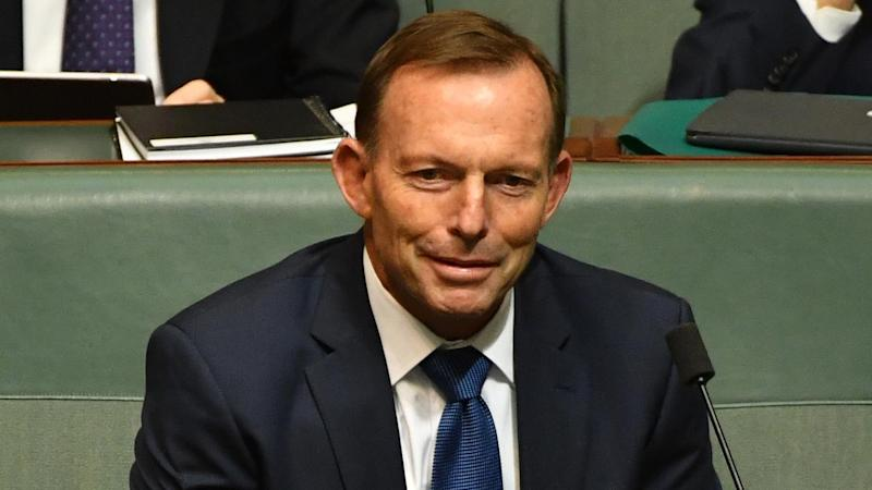 Former PM Tony Abbott is advocating a 'no' vote in the same-sex marriage postal plebiscite.