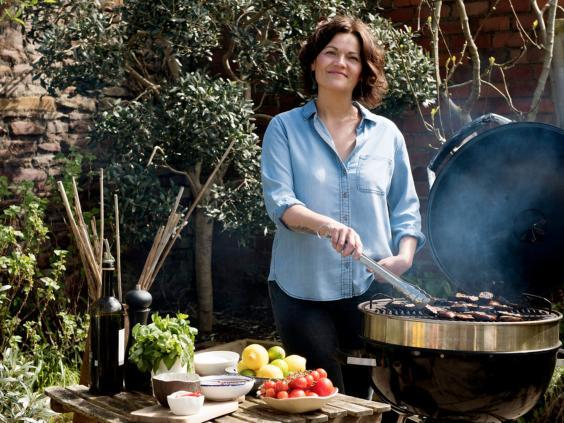Genevieve Taylor's third book, 'Charred', is all about vegetable grilling (Jeni Nott)