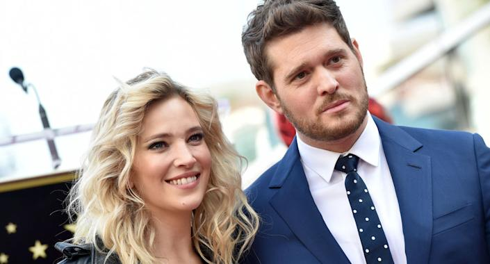 Luisana Lopilato has issued a statement defending husband Michael Buble against abuse allegations.  (Photo by Axelle/Bauer-Griffin/FilmMagic)