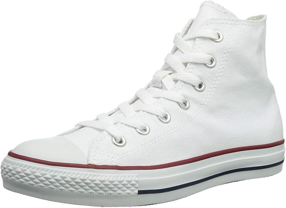 <p>We were so excited to see that these <span>Converse Chuck Taylor All Star High-Top Sneakers</span> ($46, originally $60) are on sale!</p>