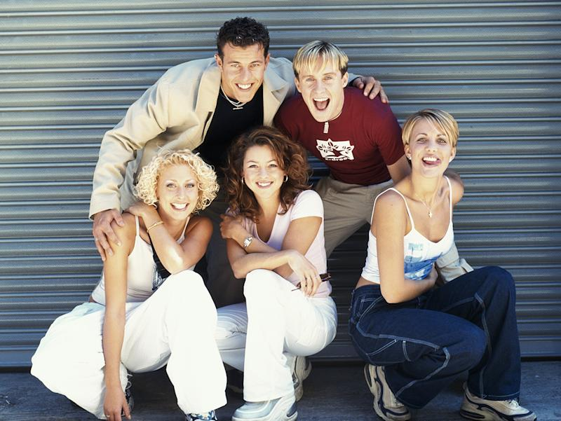 Steps, pictured in 1998, are happier now that they are in control of their careers (Image: Getty Images)