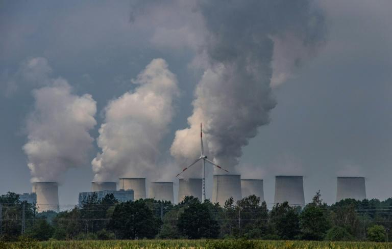 The German government wants more wind and solar power and less of the traditional, carbon dioxide spewing power stations like the Jaenschwalde Power Station near Peitz in eastern Germany (AFP Photo/John MACDOUGALL)