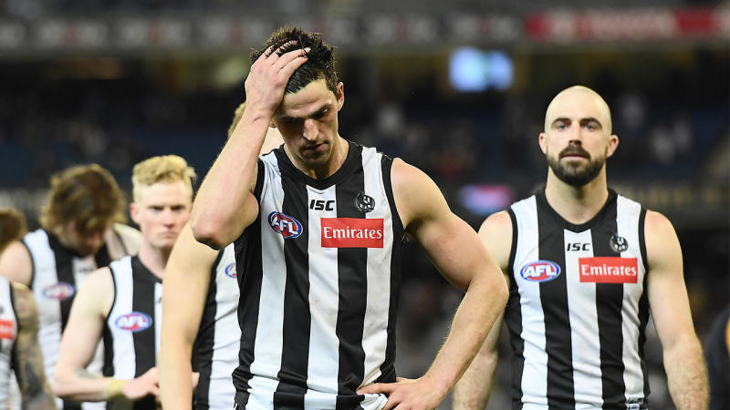 The AFL has admitted the Score Review made an incorrect call in the GWS and Collingwood clash. (Getty Images)