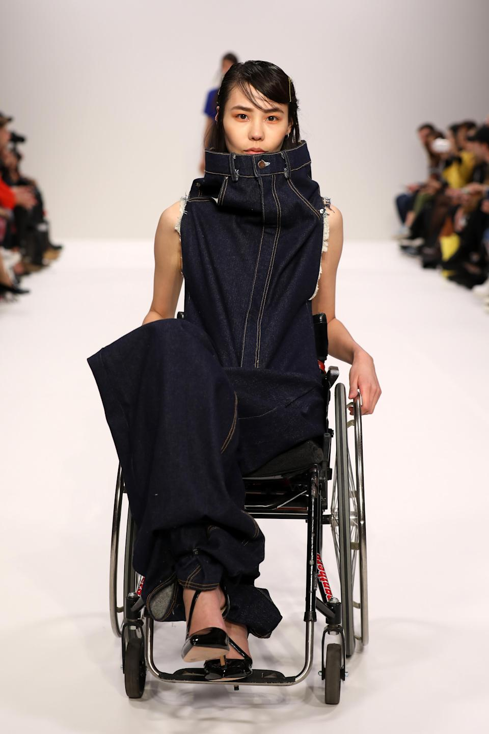 This is the second case of true diversity at London Fashion Week so far [Photo: Getty]