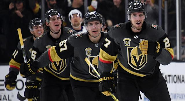 Let's be realistic here: The Vegas Golden Knights aren't an elite team. (Getty)