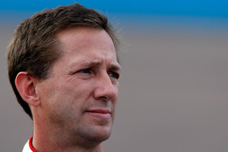 Retired NASCAR driver John Andretti died on Thursday at 56 after a public battle with colon cancer. (Photo by Lisa Blumenfeld/Getty Images for NASCAR)