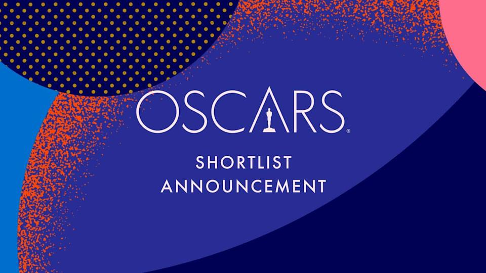 Oscars: Academy releases shortlisted titles for nine categories