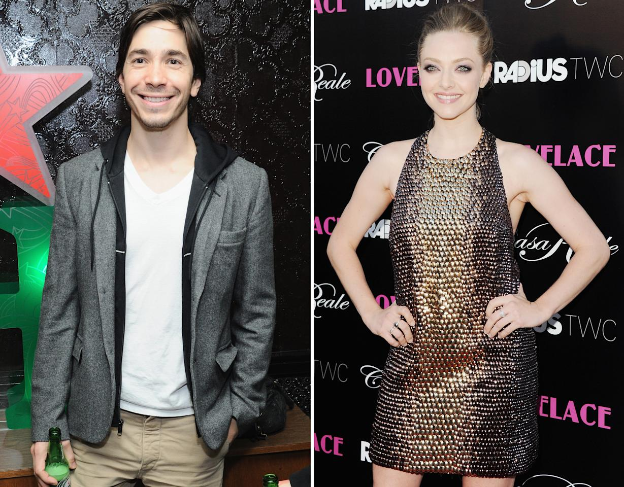 "Things are heating up between Justin Long and Amanda Seyfried! They were first spotted cozying up at the ""Lovelace"" after-party on July 30 in NYC. On August 15, the two were then seen out on a flirty dinner date in West Hollywood. Sources <a href=""http://omg.yahoo.com/blogs/celeb-news/amanda-seyfried-justin-long-enjoy-flirty-dinner-date-173033401.html"" target=""_blank"">confirm to omg!</a> Amanda and Justin are dating, but it's in the early stages. ""It's new,"" an insider close to Amanda tells omg!. ""Work is keeping her really busy so who knows where it will go, but they are having fun."""