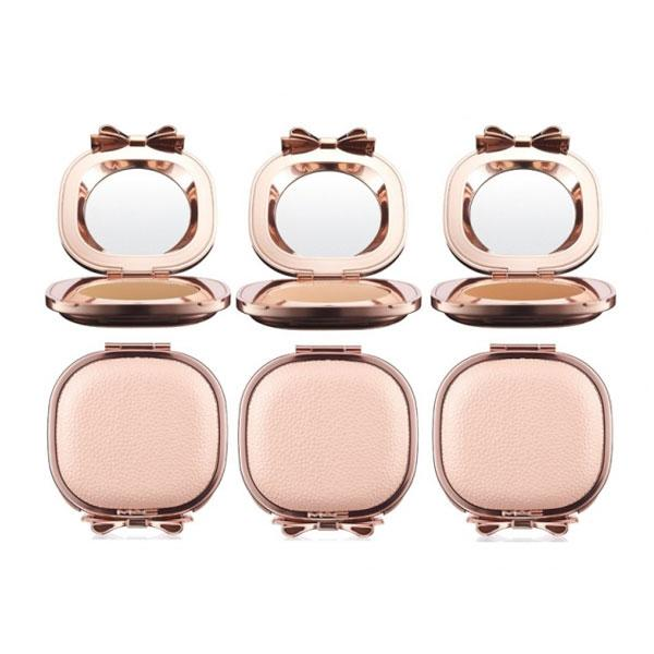 "<a target=""_blank"" href=""http://www.selfridges.com/en/Beauty/Brand-rooms/Contemporary/MAC/Whats-New/M-A-C-Making-Pretty/""><b>MAC Making Pretty Collection – from £20.50 - Selfridges</b></a><br><br>Look a million dollars in this limited edition MAC collection featuring rose gold exterior and pretty bow detailing. Our pick is the pressed powder (left) that comes in three colours and is perfect for popping in your handbag."