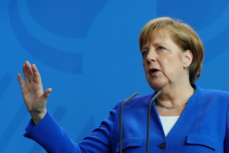 Merkel Steps Up Contest for EU's Future With Attack on Populists