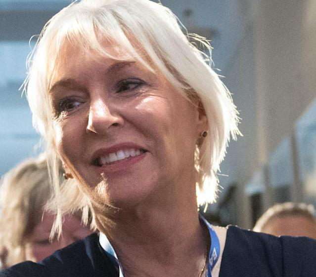 """File photo dated 12/06/19 showing Health minister Nadine Dorries who has said confirmation she had contracted the coronavirus was like """"iced water trickling down my spine""""."""