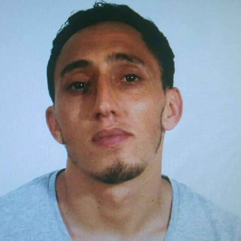Driss Oukabir, in a photo issued by Spanish police - EFE/Spanish National Police