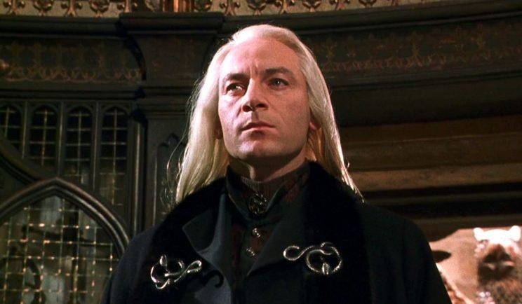 Jason Isaacs in Harry Potter - Credit: Warner Bros.