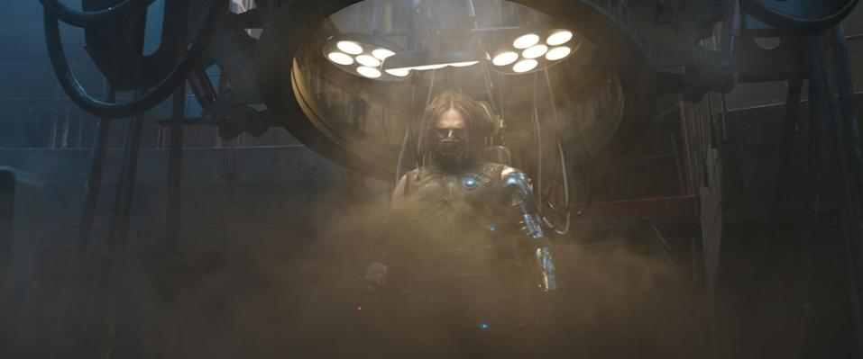 <p>Is the former HYDRA supersoldier still a brainwashed assassin or is he back to being good ol' Bucky? The cybernetic Soldier is at the center of the schism between the Avengers, some of whom feel he is an unstable, untrustworthy menace. <i>(Photo: Disney)</i></p>