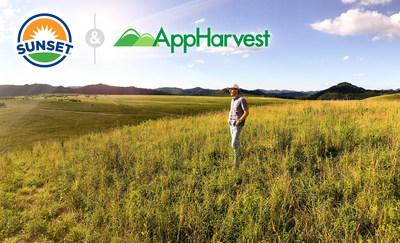 AppHarvest Founder and CEO, Jonathan Webb at proposed greenhouse site in Pikeville, KY