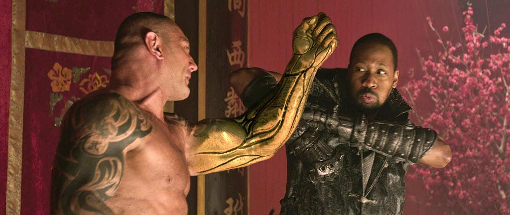 """"""" The Man With the Iron Fists """" Release date: November 2 Starring: Rza, Russell Crowe and Lucy Liu"""