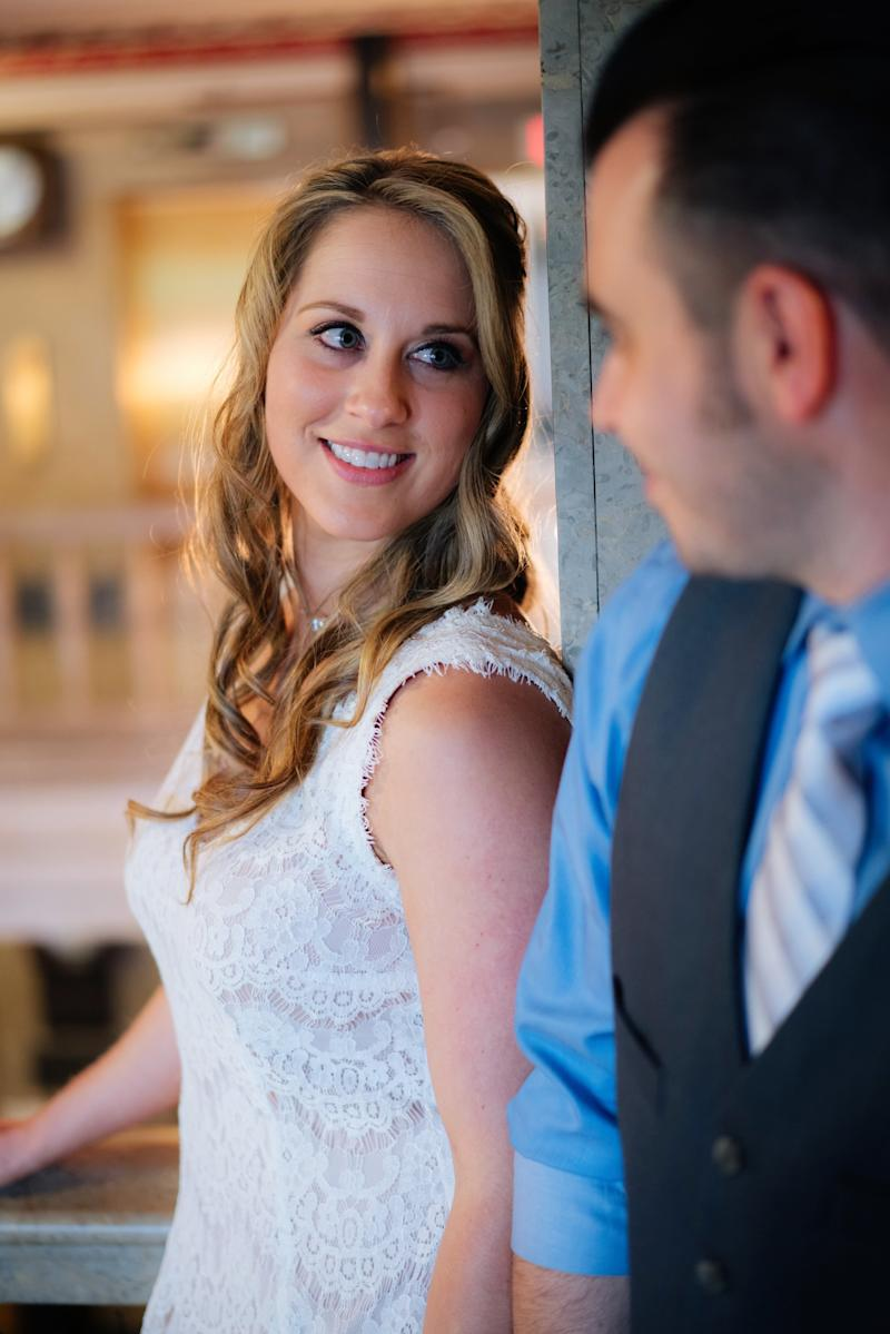 Having an intimate elopement allowed the couple to really savor the moment.  (Blue Bend Photography)