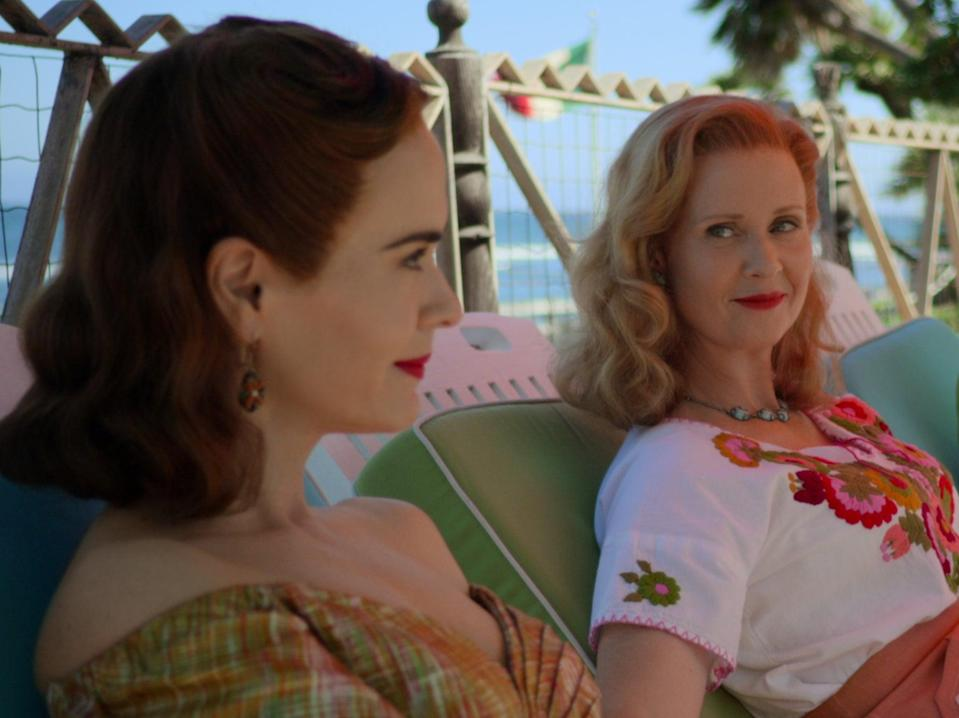 Sarah Paulson and Cynthia Nixon in Ratched (COURTESY OF NETFLIX)
