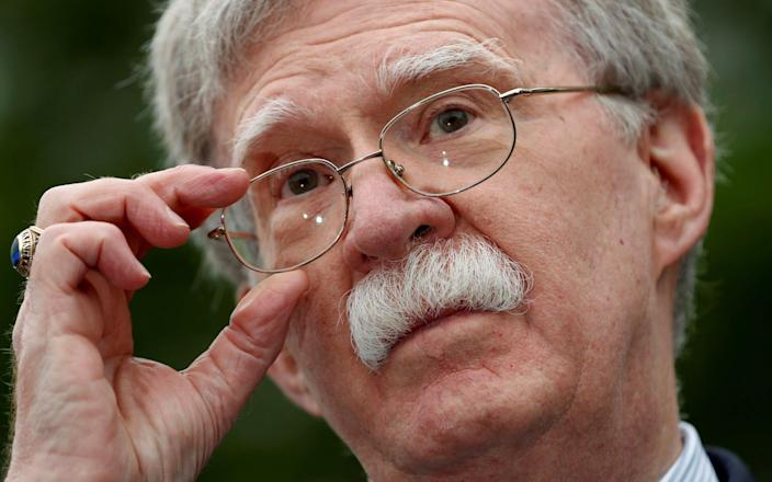 Trump has reportedly grown frustrated with his National Security Adviser's push for war - REUTERS