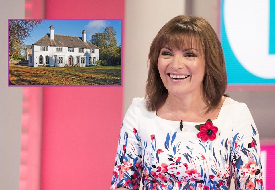 Lorraine is selling her Dundee home. Copyright: [Rex/ Savills]