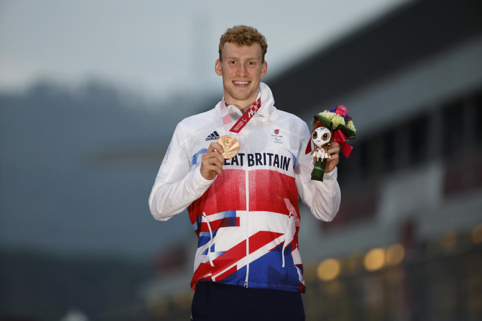 Peasgood, 25, etched his name in Games folklore on Tuesday by bagging bronze at Tokyo 2020