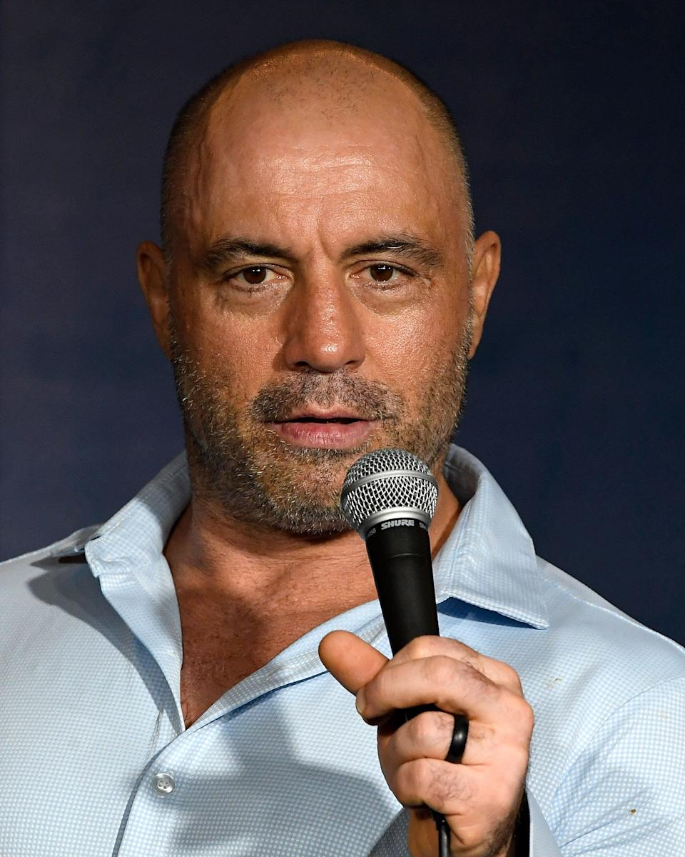 Comedian Joe Rogan performs at The Ice House Comedy Club on April 17, 2019, in Pasadena, California. (Photo: Michael S. Schwartz via Getty Images)