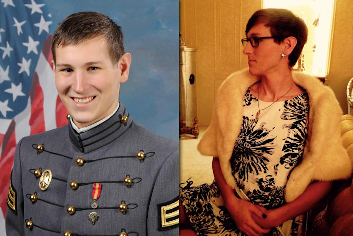 Riley Dosh graduated from the United States Military Academy in West Point, N.Y., in May 2017. (Photos: Riley Dosh)