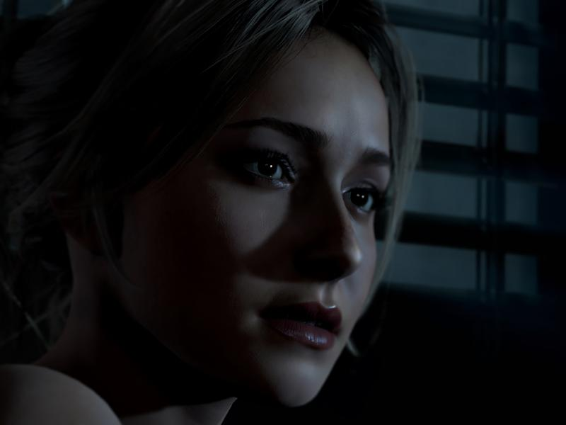 "Serien-Star Hayden Panettiere in ""Until Dawn"" (Bild: Sony Computer Entertainment)"