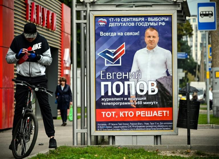 Authorities are doing what they can to drum up interest in Russia's upcoming parliamentary elections (AFP/Alexander NEMENOV)
