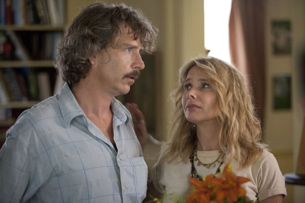 "Ben Mendelsohn and Rosanna Arquette in the ""Girls"" Season 2 episode, ""Video Games."""