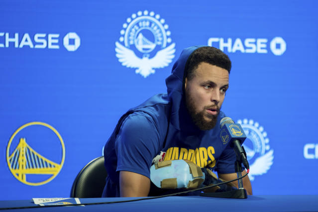 Warriors guard Stephen Curry has piled up plenty of mileage. (AP)