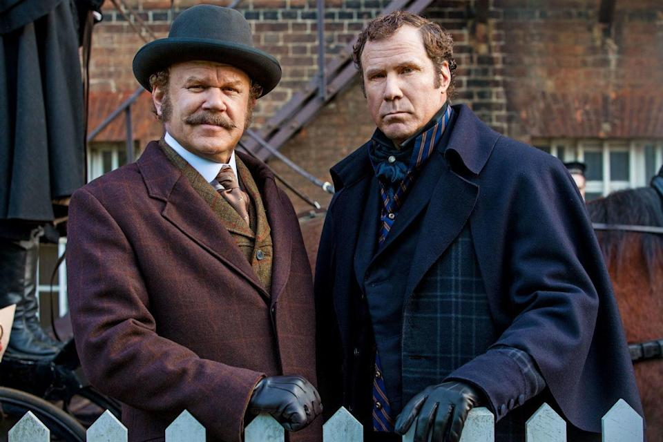 On the set of Holmes & Watson