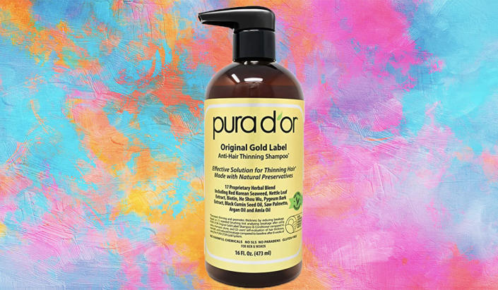 Is your hair thinning? Help is right here in this bottle. (Photo: Amazon)