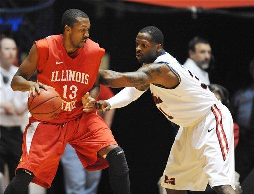Illinois State tops Mississippi 96-93 in OT in NIT