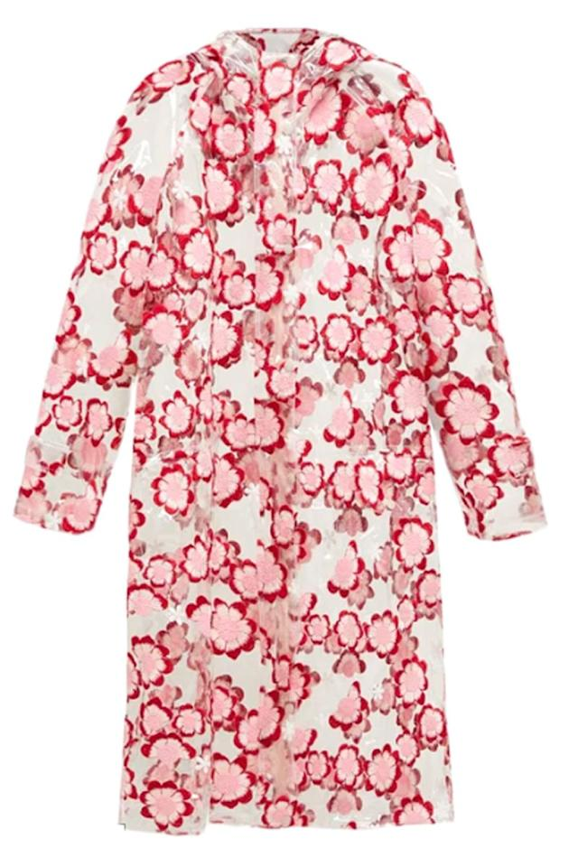 """<p>Floral-embroidered PVC raincoat - £1860</p><p><a class=""""body-btn-link"""" href=""""https://www.matchesfashion.com/products/4-Moncler-Simone-Rocha-Floral-embroidered-PVC-raincoat-1260040"""" target=""""_blank"""">BUY NOW</a></p>"""