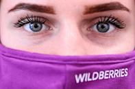 Wildberries stands out with its pink and purple logo, and its clientele is comprised mainly of women who often make purchases for the whole family