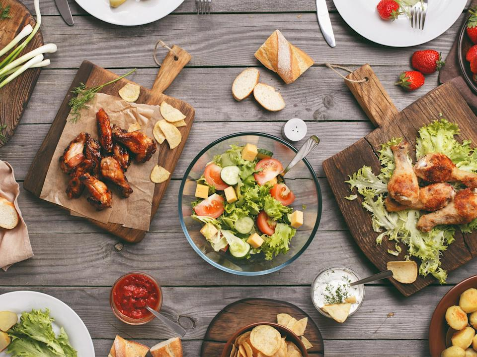 Fire up the grill this bank holiday for a BBQ in the sunshine: iStock