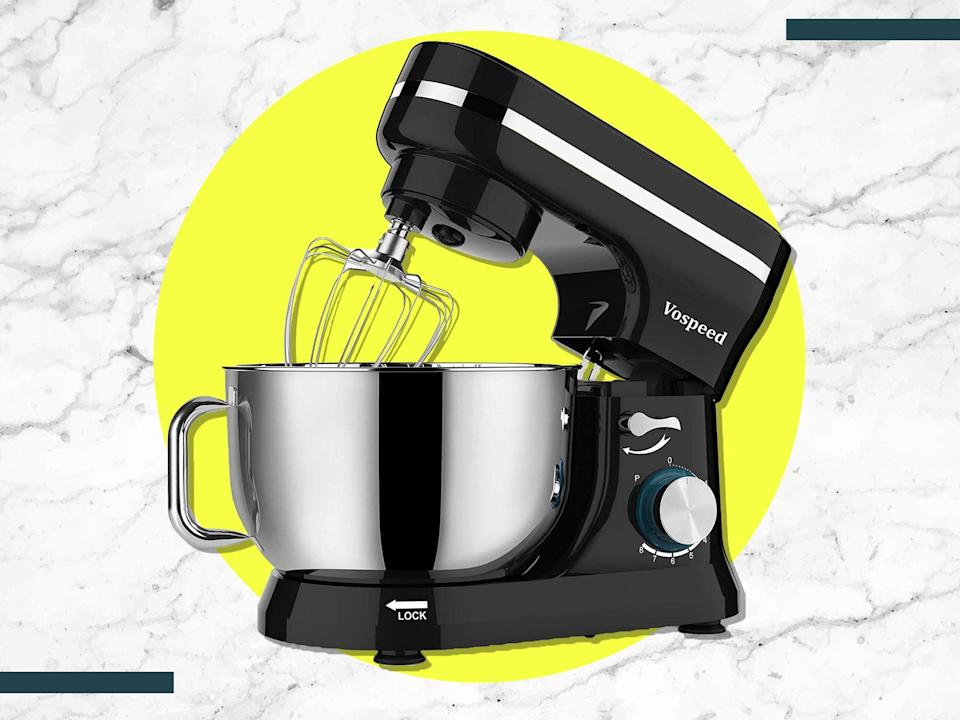 It has eight adjustable speeds so you can tailor mixing to suit everything from pasta to ice cream (iStock/The Independent)