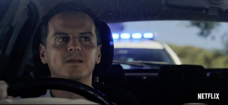 Fleabag's Andrew Scott features in a star-studded line-up for Black Mirror season 5 (Netflix)