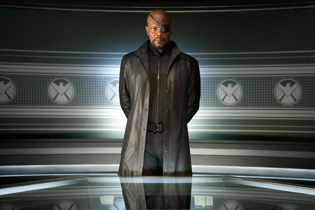 """<b>The Big Tease</b><br>The idea for creating the movie first came about in 2008, as """"Iron Man"""" and """"The Incredible Hulk"""" were being produced. Marvel Studios executive Kevin Feige imagined that the international peacekeeping force S.H.E.I.L.D., headed by Nick Fury, could easily play into the storylines of both films. Feige soon realized that none of the superheroes who form """"The Avengers"""" had been secured for films by other studios. And so the big picture became clear. As a means of teasing the idea, Nick Fury, played by <a href=""""http://movies.yahoo.com/person/samuel-l-jackson/"""">Samuel L. Jackson</a>, made post-title cameos in all the stand-alone Avengers movies."""