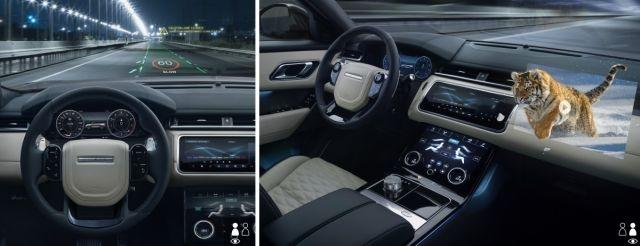 Jaguar Land Rover developing head-up display that could stream 3D movies