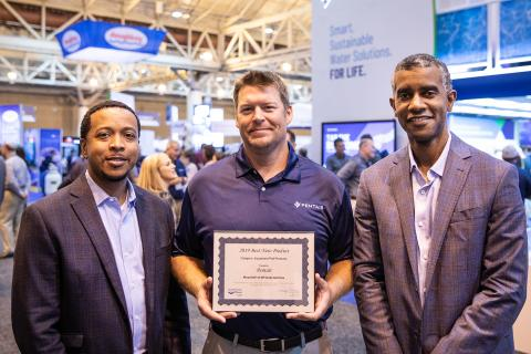 """Pentair's Powerful and Energy Efficient Variable Speed Pump Named """"Best New Product"""" at International Pool 